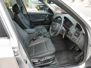 2007 BMW X3 E83 MY07 2.0D Silver 6 Speed Auto Steptronic Wagon