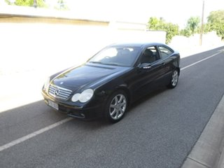 2003 Mercedes-Benz C-Class CL203 C180 Kompressor Sports Black Automatic Coupe