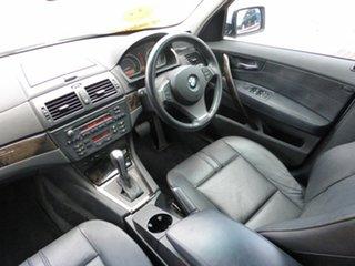 2007 BMW X3 E83 MY07 2.0D Silver 6 Speed Auto Steptronic Wagon.