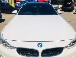 2014 BMW 4 Series F36 420d Gran Coupe M Sport White 8 Speed Sports Automatic Hatchback