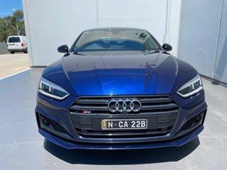 2017 Audi S5 F5 MY18 Sportback Tiptronic Quattro Blue 8 Speed Sports Automatic Hatchback.