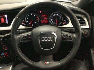 2011 Audi A4 B8 8K MY11 Multitronic White 8 Speed Constant Variable Sedan