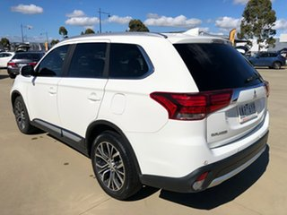 2016 Mitsubishi Outlander ZK MY17 LS 4WD Safety Pack White 6 Speed Sports Automatic Wagon