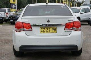 2011 Holden Cruze JH Series II MY11 SRi-V White 6 Speed Sports Automatic Sedan