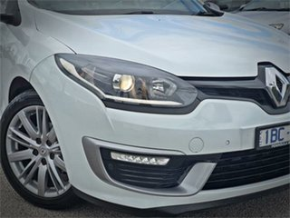 2014 Renault Megane III K95 Phase 2 GT-Line Premium White Sports Automatic Dual Clutch Wagon