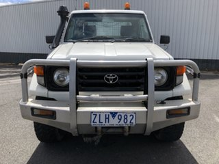 2006 Toyota Landcruiser HZJ79R (4x4) White 5 Speed Manual Cab Chassis