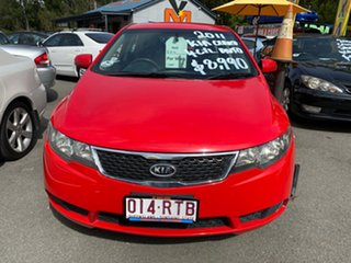 2011 Kia Cerato TD MY11 S Red 6 Speed Automatic Hatchback