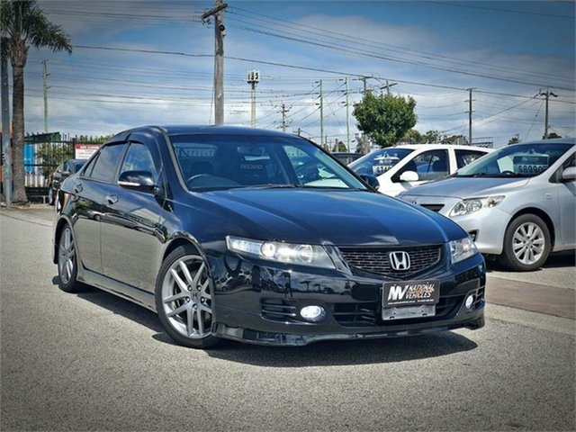 Used Honda Accord Euro CL R Cheltenham, 2005 Honda Accord Euro CL R Black Manual Sedan
