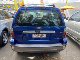 2007 Ford Escape ZC XLS Blue 4 Speed Automatic Wagon.