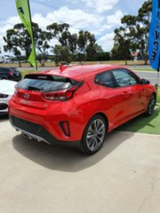 2019 Hyundai Veloster JS MY20 Coupe Ignite Flame 6 Speed Automatic Hatchback