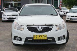 2011 Holden Cruze JH Series II MY11 SRi-V White 6 Speed Sports Automatic Sedan.