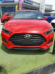 2019 Hyundai Veloster JS MY20 Coupe Ignite Flame 6 Speed Automatic Hatchback.