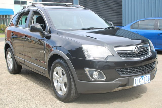 Used Holden Captiva CG Series II 5 (4x4) West Footscray, 2011 Holden Captiva CG Series II 5 (4x4) 6 Speed Automatic Wagon