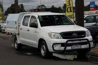 2010 Toyota Hilux GGN15R MY10 SR 4x2 White 5 Speed Automatic Utility.