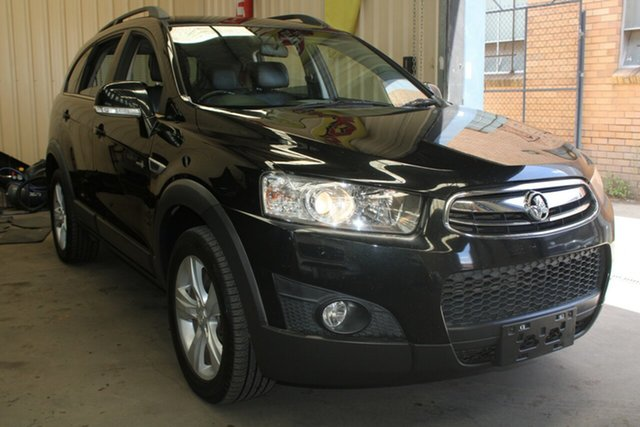 Used Holden Captiva CG Series II 7 CX (4x4) West Footscray, 2012 Holden Captiva CG Series II 7 CX (4x4) 6 Speed Automatic Wagon