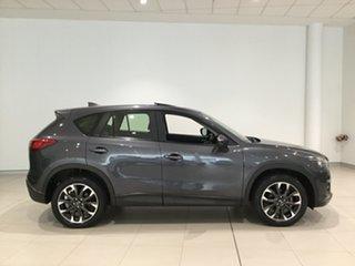 2016 Mazda CX-5 KE1032 Grand Touring SKYACTIV-Drive AWD Grey 6 Speed Sports Automatic Wagon.