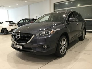 2014 Mazda CX-9 TB10A5 Luxury Activematic Grey 6 Speed Sports Automatic Wagon