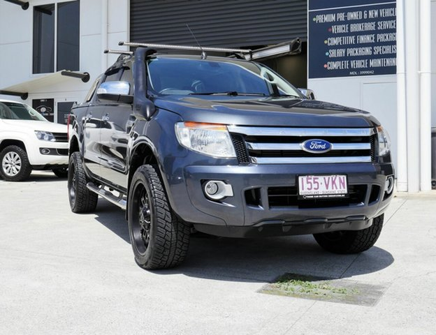 Used Ford Ranger PX MkII XLT Double Cab Capalaba, 2015 Ford Ranger PX MkII XLT Double Cab Grey 6 Speed Sports Automatic Utility
