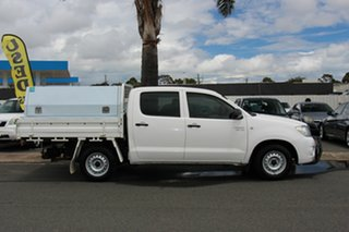 2010 Toyota Hilux GGN15R MY10 SR 4x2 White 5 Speed Automatic Utility
