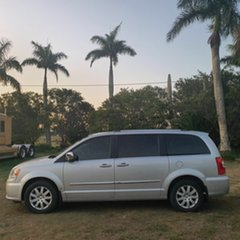 2011 Chrysler Grand Voyager RT 5th Gen MY11 Limited Silver 6 Speed Automatic Wagon.