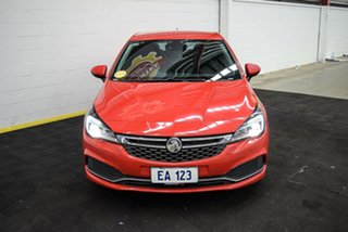 2017 Holden Astra BK MY17 RS-V Red/Black 6 Speed Sports Automatic Hatchback.