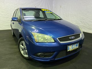 2008 Ford Focus LT LX Ocean Blue 4 Speed Sports Automatic Sedan.