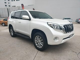 Toyota Landcruiser Prado Altitude White Sports Automatic Wagon