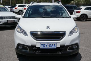 2015 Peugeot 2008 A94 Allure White 5 Speed Manual Wagon.