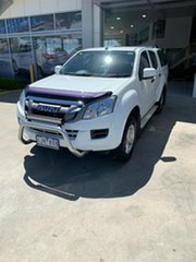 2016 Isuzu D-MAX MY15.5 SX Crew Cab 4x2 High Ride White 5 Speed Sports Automatic Utility.