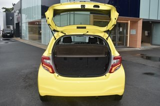 2015 Toyota Yaris NCP130R Ascent Yellow 5 Speed Manual Hatchback