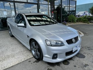 2012 Holden Commodore VE II MY12.5 SV6 Z-Series Silver 6 Speed Automatic Utility.
