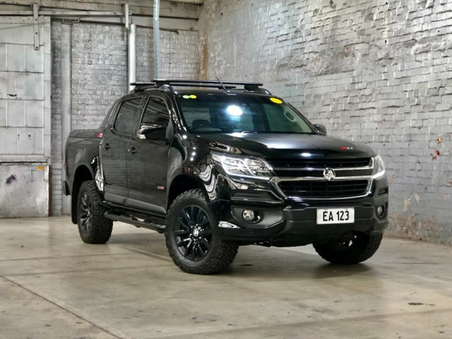 Used Holden Colorado RG MY18 Z71 Pickup Crew Cab Mile End South, 2017 Holden Colorado RG MY18 Z71 Pickup Crew Cab Black 6 Speed Sports Automatic Utility