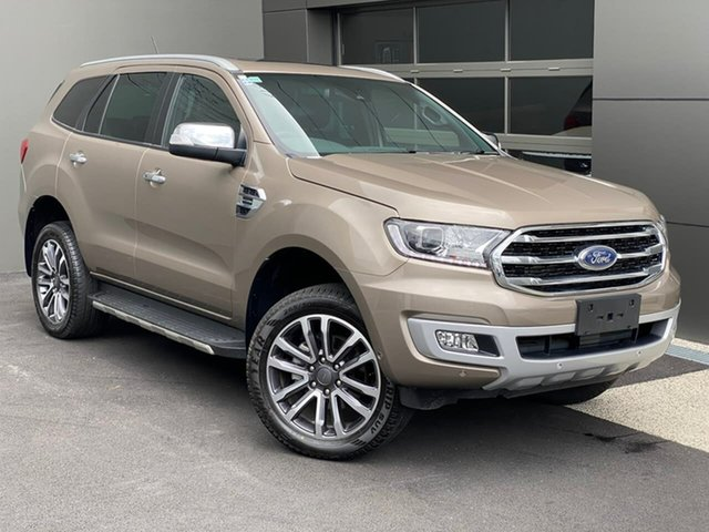 Used Ford Everest UA II 2019.75MY Titanium Hobart, 2019 Ford Everest UA II 2019.75MY Titanium Silver 10 Speed Sports Automatic SUV