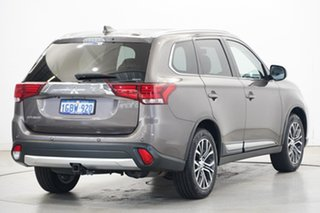 2017 Mitsubishi Outlander ZK MY17 LS 4WD Brown 6 Speed Constant Variable Wagon