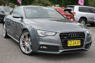 2013 Audi A5 8T MY13 S Tronic Quattro Grey 7 Speed Sports Automatic Dual Clutch Coupe.
