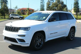 2020 Jeep Grand Cherokee WK MY20 S-Limited Bright White 8 Speed Sports Automatic Wagon.