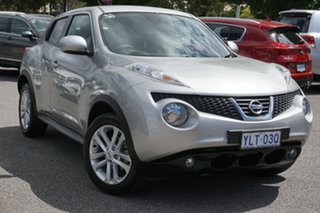 2014 Nissan Juke F15 MY14 ST 2WD Silver 1 Speed Constant Variable Hatchback.