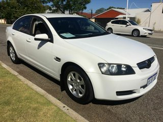 2008 Holden Commodore VE MY08 Omega White 4 Speed Automatic Sedan.