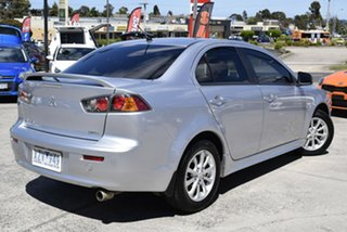 2010 Mitsubishi Lancer CJ MY11 ES Billet Silver 6 Speed Constant Variable Sedan