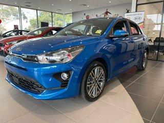 2020 Kia Rio YB MY21 Sport Sporty Blue 6 Speed Automatic Hatchback.