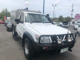 1999 Nissan Patrol White Automatic Utility.