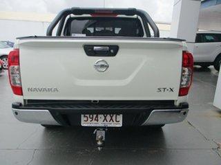 2017 Nissan Navara STX White Automatic Dual Cab.