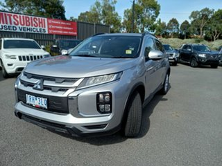 2019 Mitsubishi ASX XD MY20 LS 2WD Billet Silver 1 Speed Constant Variable Wagon.