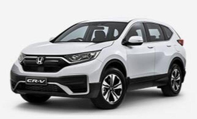 New Honda CR-V RW MY21 VTi FWD 7 Atherton, 2020 Honda CR-V RW MY21 VTi FWD 7 White 1 Speed Constant Variable Wagon