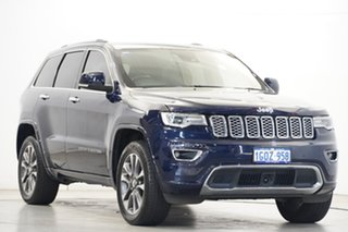 2018 Jeep Grand Cherokee WK MY18 Overland Blue 8 Speed Sports Automatic Wagon