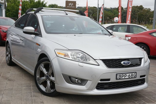 Used Ford Mondeo MB XR5 Turbo Phillip, 2010 Ford Mondeo MB XR5 Turbo Silver 6 Speed Manual Hatchback
