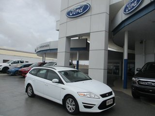 2014 Ford Mondeo MC LX TDCi White 6 Speed Direct Shift Wagon.