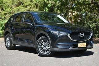 2018 Mazda CX-5 KF4WLA Maxx SKYACTIV-Drive i-ACTIV AWD Sport Black 6 Speed Sports Automatic Wagon.