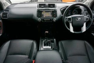 2015 Toyota Landcruiser Prado KDJ150R MY14 VX White 5 Speed Sports Automatic Wagon
