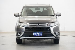 2017 Mitsubishi Outlander ZK MY17 LS 4WD Brown 6 Speed Constant Variable Wagon.